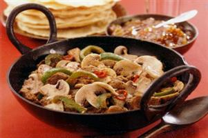 Balti Lamb with Mushrooms