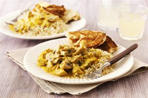 Indian Mushroom & Vegetable Korma