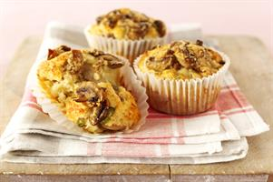 Mushroom and Cheese Savoury Muffins