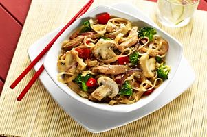 Chicken and Mushroom Stir-fry
