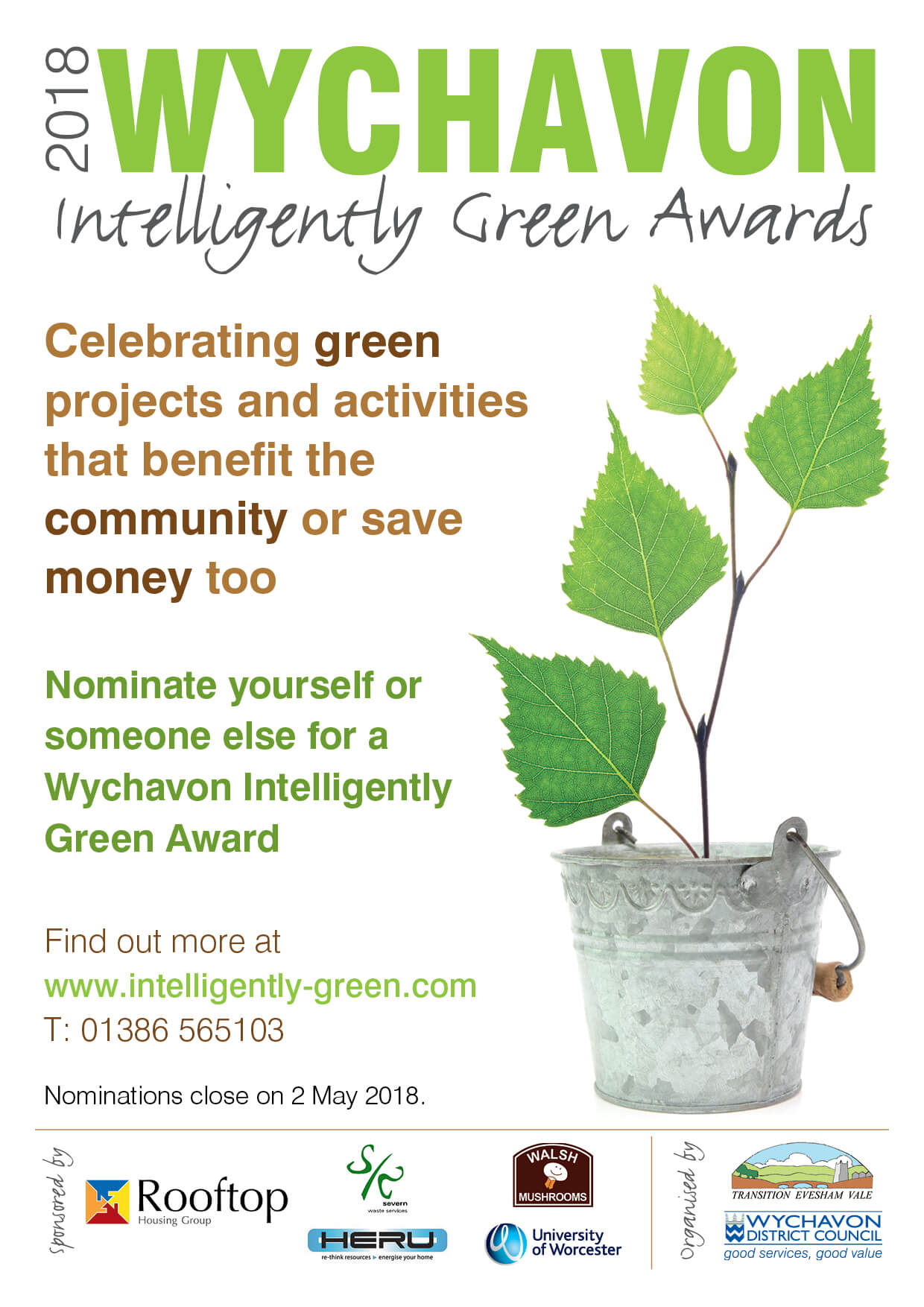 Proud to Sponsor Wychavon Intelligently Green Awards 2018